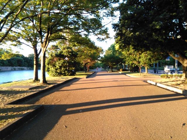 広島城ランニングコース西